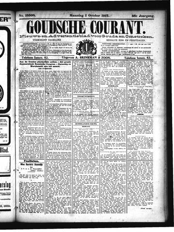 Goudsche Courant 1917-10-01