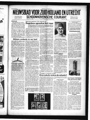 Schoonhovensche Courant 1951-10-17