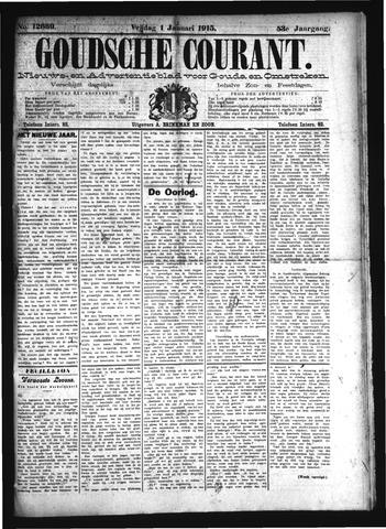 Goudsche Courant 1915
