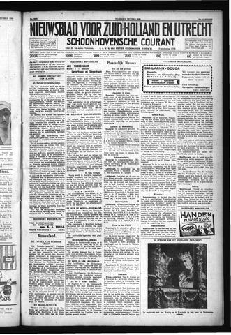 Schoonhovensche Courant 1930-10-31