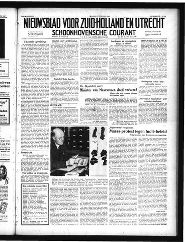 Schoonhovensche Courant 1949-08-22