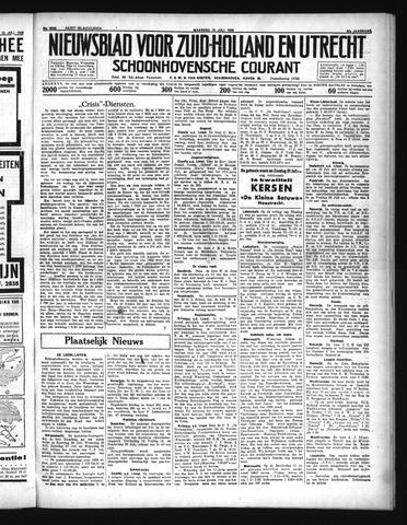 Schoonhovensche Courant 1935-07-15