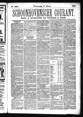 Schoonhovensche Courant 1908-03-18