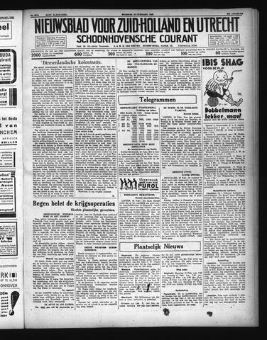 Schoonhovensche Courant 1936-02-10