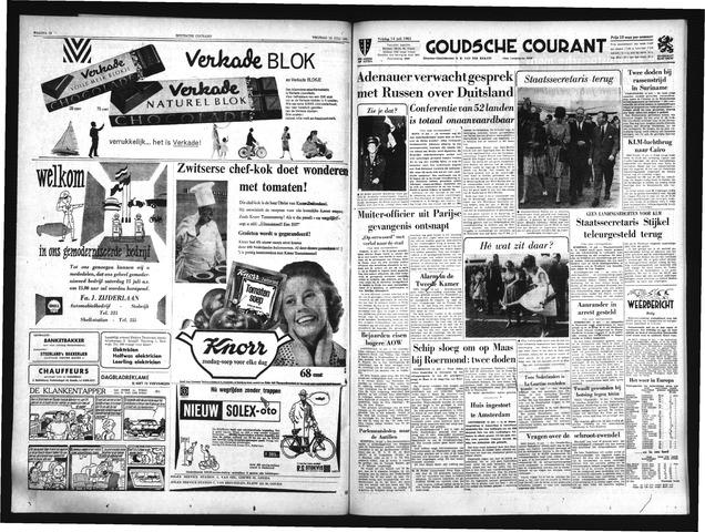 Goudsche Courant 1961-07-14