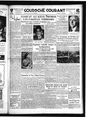 Goudsche Courant 1951-10-17