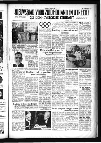 Schoonhovensche Courant 1956-02-06