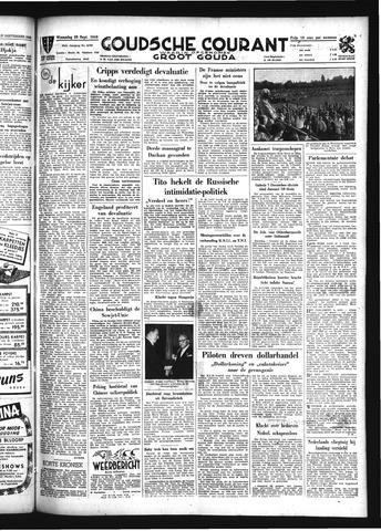 Goudsche Courant 1949-09-28