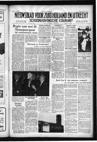Schoonhovensche Courant 1957-11-25