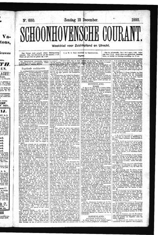 Schoonhovensche Courant 1880-12-12
