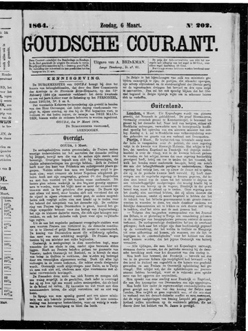 Goudsche Courant 1864-03-06