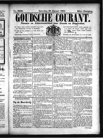 Goudsche Courant 1894-01-20
