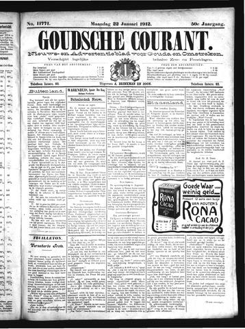 Goudsche Courant 1912-01-22