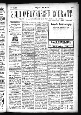 Schoonhovensche Courant 1918-06-14
