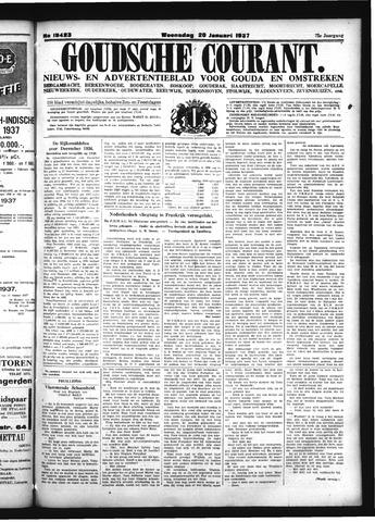 Goudsche Courant 1937-01-20