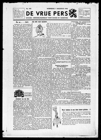 De Vrije Pers 1945-08-01