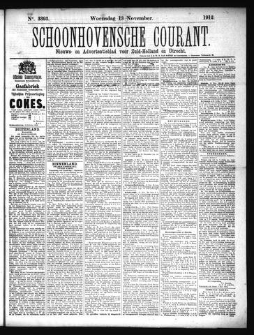 Schoonhovensche Courant 1912-11-13
