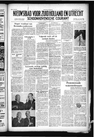 Schoonhovensche Courant 1957-03-25
