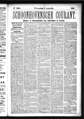 Schoonhovensche Courant 1898-08-03