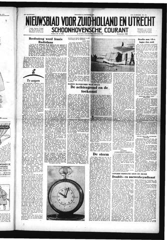 Schoonhovensche Courant 1952-09-24