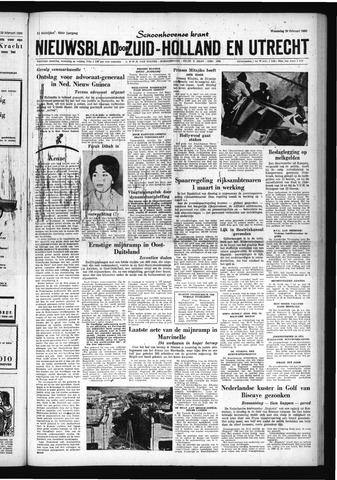 Schoonhovensche Courant 1960-02-24
