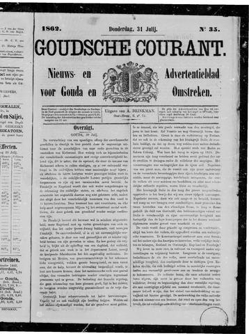 Goudsche Courant 1862-07-31