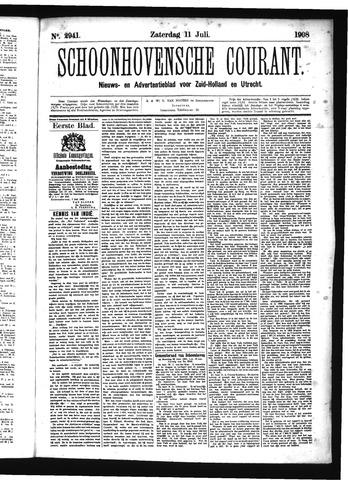 Schoonhovensche Courant 1908-07-11
