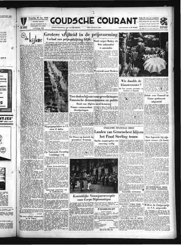 Goudsche Courant 1952-01-23