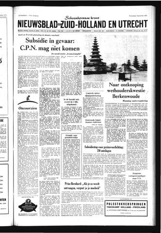 Schoonhovensche Courant 1971-09-01