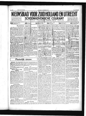 Schoonhovensche Courant 1934-11-12