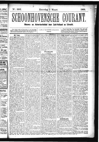 Schoonhovensche Courant 1902-03-01