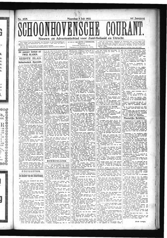 Schoonhovensche Courant 1922-07-03