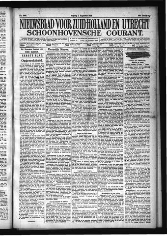 Schoonhovensche Courant 1928-08-03