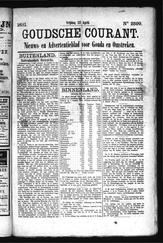 Goudsche Courant 1881-04-22