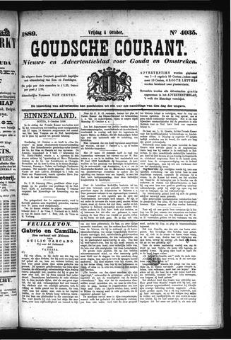 Goudsche Courant 1889-10-04