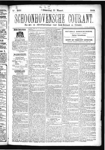 Schoonhovensche Courant 1919-03-11