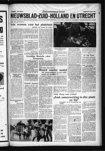 Schoonhovensche Courant 1961-11-20