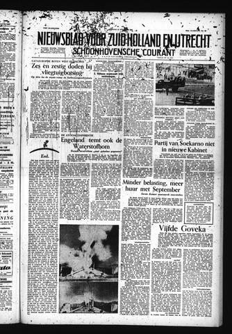 Schoonhovensche Courant 1955-08-12