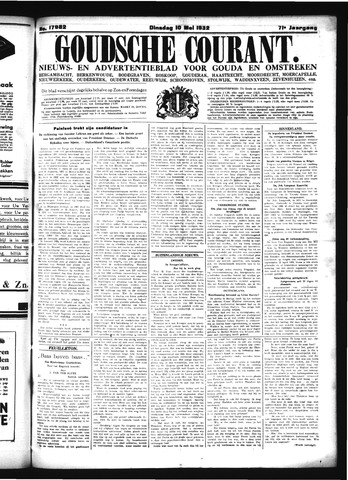 Goudsche Courant 1932-05-10