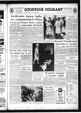 Goudsche Courant 1962-09-17