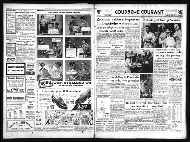 Goudsche Courant 1958-05-01