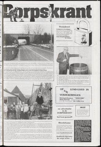 Dorpskrant 1986-11-12
