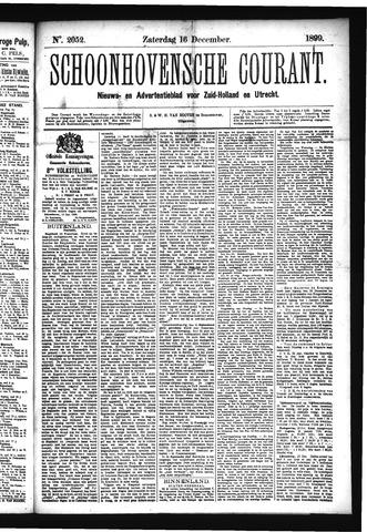 Schoonhovensche Courant 1899-12-16
