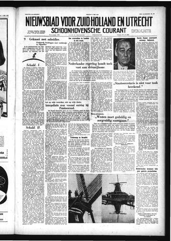 Schoonhovensche Courant 1958-05-09