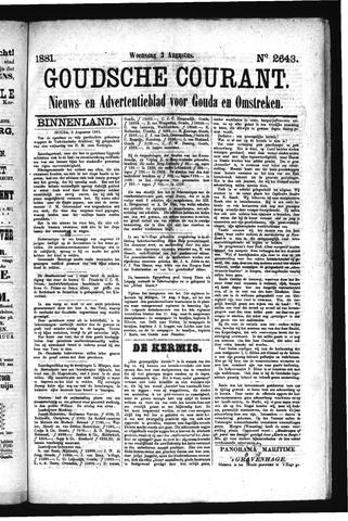 Goudsche Courant 1881-08-03