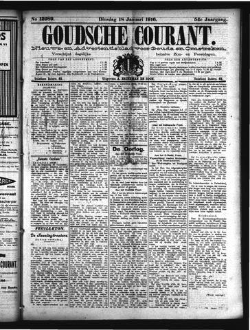 Goudsche Courant 1916-01-18