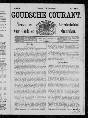 Goudsche Courant 1863-12-20