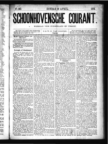 Schoonhovensche Courant 1876-04-16