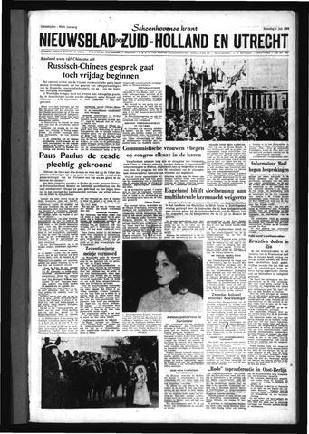 Schoonhovensche Courant 1963-07-01
