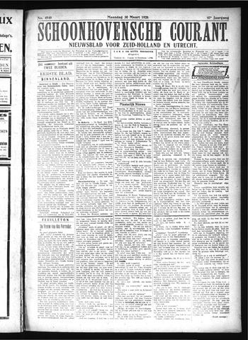 Schoonhovensche Courant 1925-03-30
